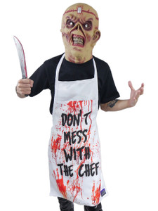 Go Rocker Apron - Don't Mess With The Cheff