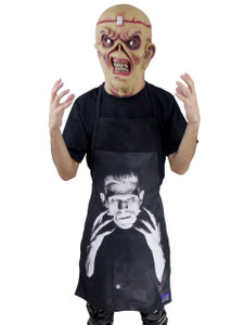 Go Rocker Apron - Frankenstein's Monster