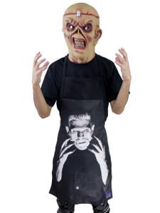 Go Rocker Apron - Frankenstein's Monster