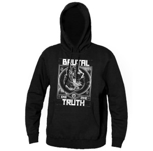 Brutal Truth End Time Hooded Sweatshirt