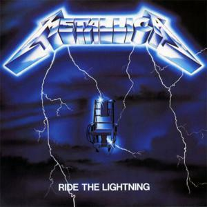 "Metallica - Ride The Lightning 4x4"" Color Patch"