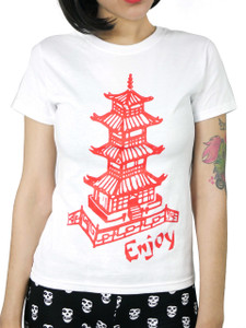 Chinese Food Takeout Box Girls T-Shirt
