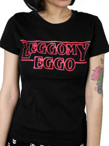 Stranger Things Eleven Leggo My Eggo Girls T-Shirt