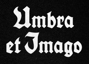 "Umbra Et Imago Logo 5.5x4"" Printed Patch"