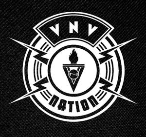 "VNV Nation New Logo 4x4"" Printed Patch"