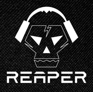 "Reaper Babylon Killed The Music 4x4"" Printed Patch"