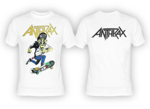 Anthrax - Not Man White T-Shirt