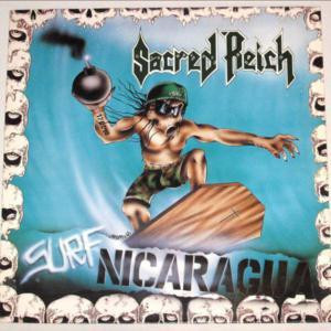 "Sacred Reich - Surf Nicaragua 4X4"" Color Patch"