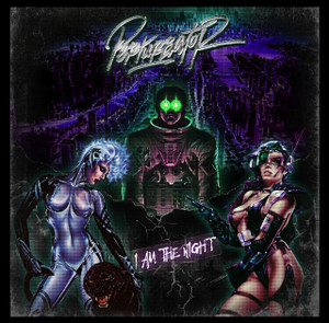 "Perturbator - I Am The Night 4x4"" Color Patch"