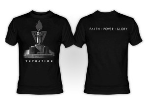 VNV Nation Faith Power Glory T-Shirt