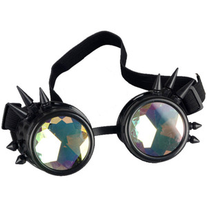 Spiked Goggles with Diamond Like Glass