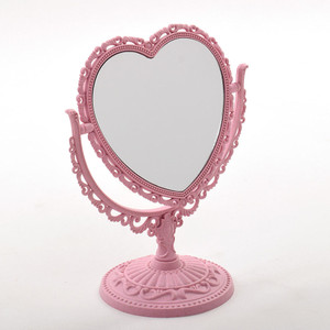 Heart Shaped Desk Mirror