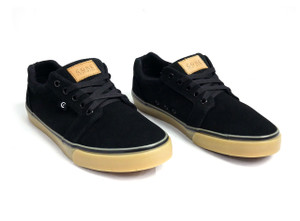 Black & Gum Smith Low Sneakers