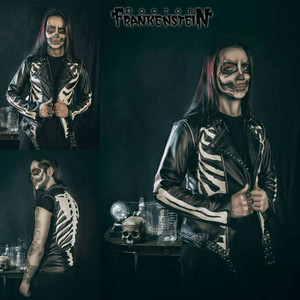 Dr. Frankenstein - P-Leather Skeleton Jacket