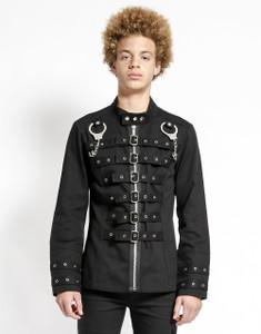 Tripp NYC - Handcuff Goth Black Jacket