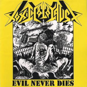"Toxic Holocaust - Evil Never Dies 4x4"" Color Patch"