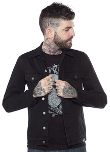 Sourpuss - Black Denim Men's Jacket