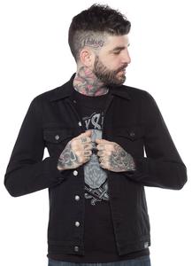 Sourpuss - Black Denim Mens Jacket