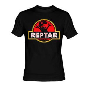 Reptar Jurassic Park Logo T-Shirt
