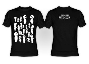 Princess Mononoke Glow in the Dark Kodama T-Shirt