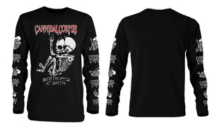 Cannibal Corpse - Butchered At Birth Long Sleeve T-Shirt