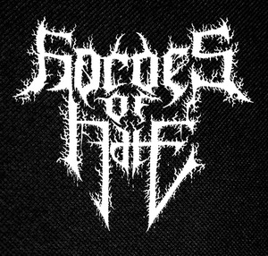 "Hordes of Hate Logo 5.5x4"" Printed Patch"
