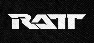 "Ratt Logo 5.5x2.5"" Printed Patch"