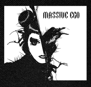 "Massive Ego Noise in the Machine 4x4"" Printed Patch"