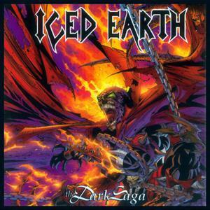 """Iced Earth - The Dark Saga 4x4"""" Color Patch"""