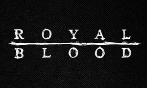 "Royal Blood Logo 5x3"" Printed Patch"