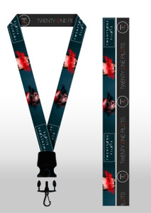 Twenty One Pilots Faces Lanyard
