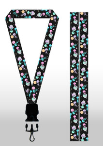 Aliens and Cupcakes Lanyard