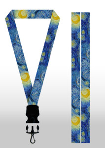 The Starry Sky By Van Gogh Lanyard