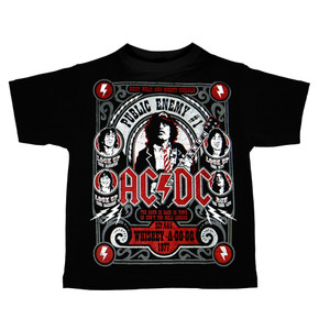 Kid's T-Shirt - AC/DC - Whiskey A-Go-Go
