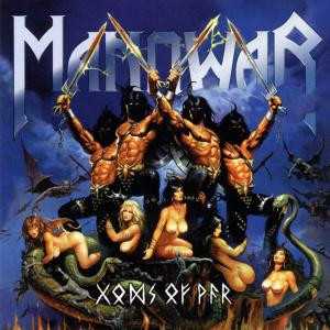 "Manowar - Gods Of War 4x4"" Color Patch"