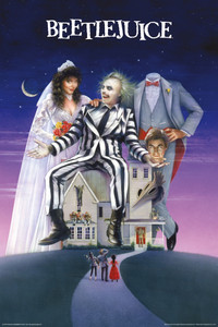 """Beetlejuice Movie Cover 24x36"""" Poster"""