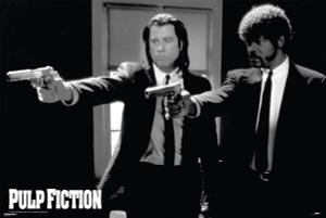 """Pulp Fiction - Vincent & Jules 36x24"""" Poster"""
