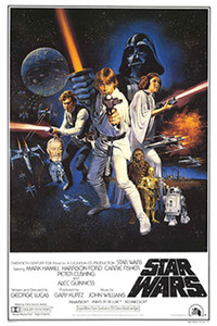 """Star Wars A New Hope 24x36"""" Poster"""