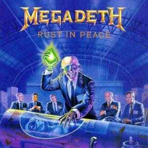 "Megadeth - Rust In Peace 4x4"" Color Patch"