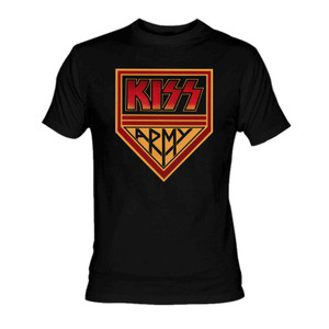 KISS - Army Shield T-Shirt