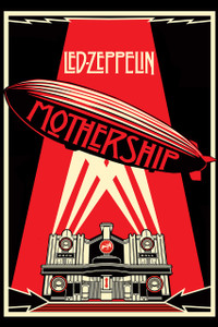 "Led Zeppelin - Mothership 12x18"" Poster"