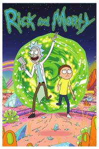 "Rick & Morty Portal 12x18"" Poster"