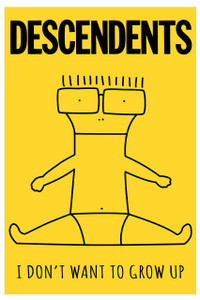 "Descendents - I Don't Want to Grow Up 12x18"" Poster"