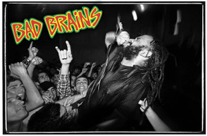 "Bad Brains Live! 18x12"" Poster"