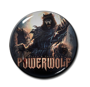 "Powerwolf - Blessed & Possessed 1"" Pin"