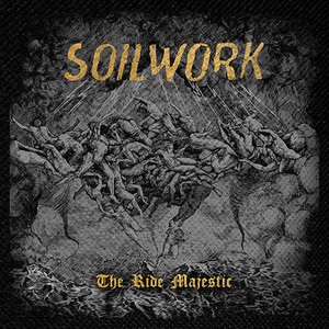 "Soilwork - The Ride Majestic 4x4"" Color Patch"