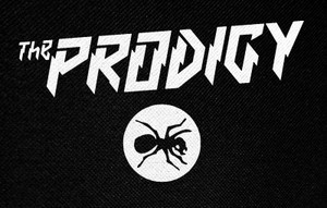 "The Prodigy Ant Logo 5x3"" Printed Patch"