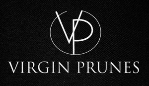 "Virgin Prunes Logo 4.5 x 2.5"" Printed Patch"