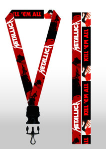 Metallica - Kill 'Em All Lanyard