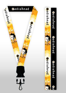 Radiohead - Pablo Honey Lanyard